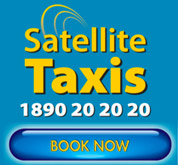 Book a taxi now with Satellite!